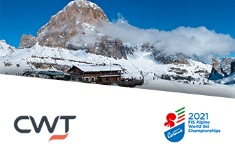 CWT - CORTINA MONDIALI SCI ALPINO 2021      sviluppato per CWT MEETINGS & EVENTS
