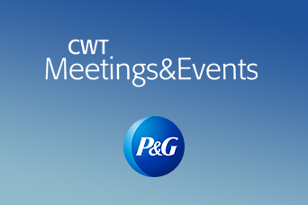 CWT – P&G      sviluppato per CWT MEETINGS & EVENTS