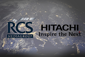 HITACHI - RCS sviluppato per  RCS Media Group