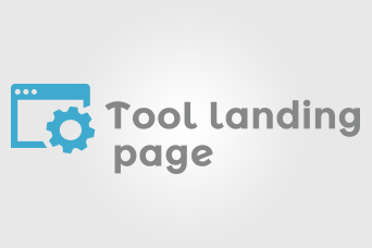 Tool Landing Page    sviluppato per Tool Landing Page